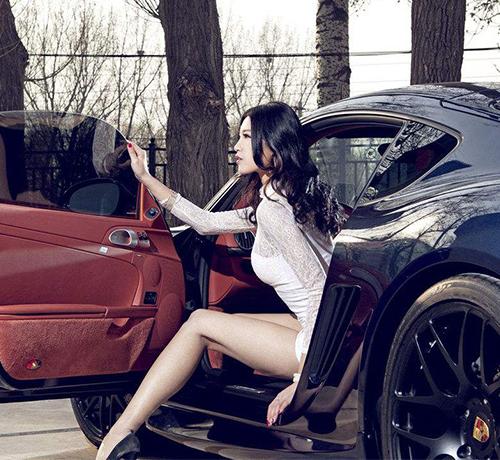 重庆车模表演